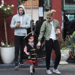 Kate Mara Was Spotted at LA Mill Coffee With Jamie Bell and His Son in LA 08/15/2017-3