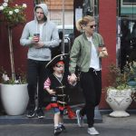 Kate Mara Was Spotted at LA Mill Coffee With Jamie Bell and His Son in LA 08/15/2017-4