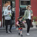 Kate Mara Was Spotted at LA Mill Coffee With Jamie Bell and His Son in LA 08/15/2017-5