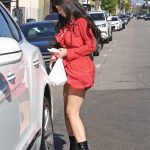 Kylie Jenner Leaves il Tramezzino Italian Restaurant in Beverly Hills 08/14/2017-5