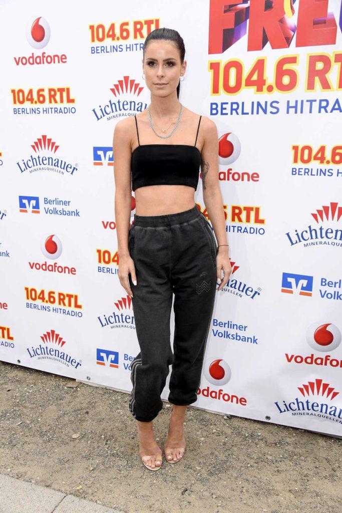 Lena Meyer-Landrut at Open Air Festival Stars for Free in Berlin 08/25/2017-1
