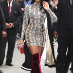 Normani Kordei Leaves Good Morning America in NYC 08/29/2017-3