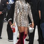 Normani Kordei Leaves Good Morning America in NYC 08/29/2017-4