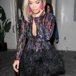 Rita Ora Arrives at the Delilah Night Club in West Hollywood 08/03/2017-5