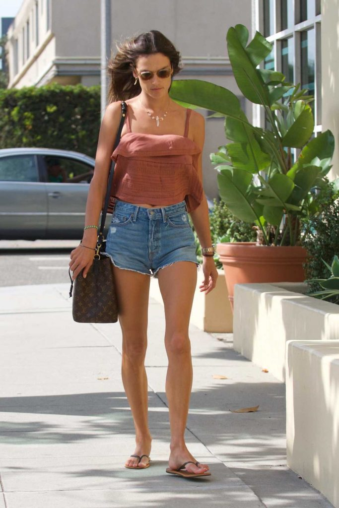 Alessandra Ambrosio Was Seen Out in Los Angeles 09/10/2017-1