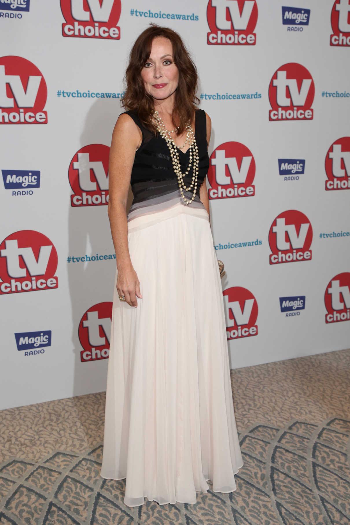 Amanda Mealing Actress amanda mealing at tv choice awards at the dorchester in