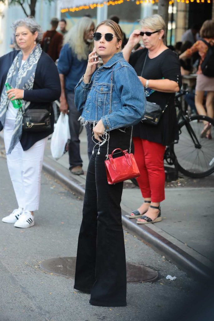 Ashley Benson Leaves Her Hotel in NYC 09/15/2017-1