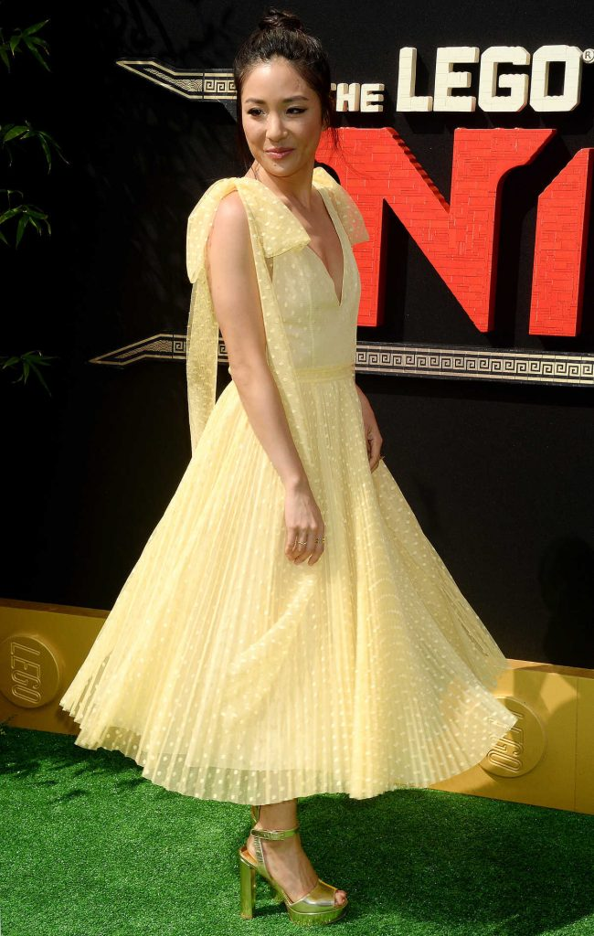 Constance Wu at The LEGO Ninjago Movie Premiere in Westwood 09/16/2017-1