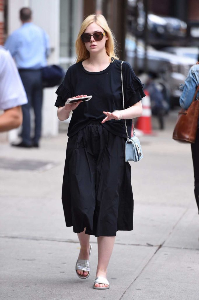 Elle Fanning Was Seen Out in NYC 09/07/2017-1