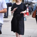 Elle Fanning Was Seen Out in NYC 09/07/2017-2