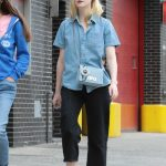 Elle Fanning Was Seen With Her Mother Heather Joy Arrington Out in NYC 09/02/2017-2