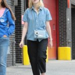 Elle Fanning Was Seen With Her Mother Heather Joy Arrington Out in NYC 09/02/2017-4