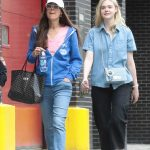 Elle Fanning Was Seen With Her Mother Heather Joy Arrington Out in NYC 09/02/2017-5