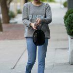 Emma Roberts Wears a Sunday Sweater in West Hollywood 09/18/2017-2