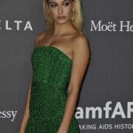 Hailey Baldwin at amfAR Gala in Milan 09/21/2017-4