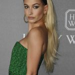 Hailey Baldwin at amfAR Gala in Milan 09/21/2017-5