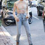 Hailey Baldwin Leaves Bar Pitti in New York City 09/08/2017-4