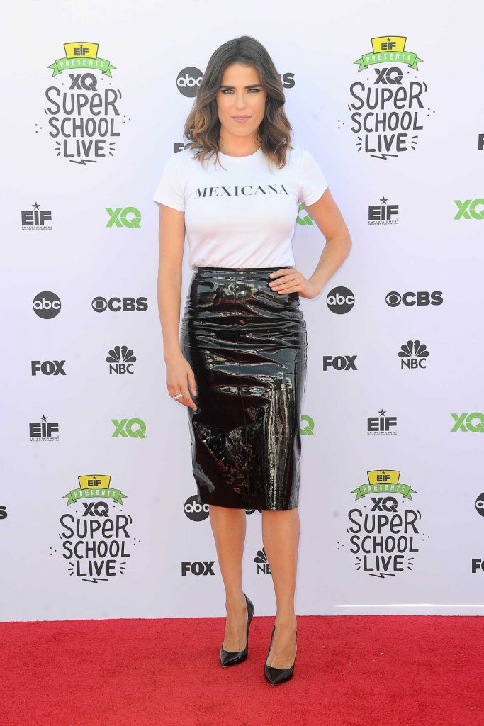 Karla Souza at EIF Presents: XQ Super School Live at the Barker Hangar in Los Angeles 09/08/2017-1