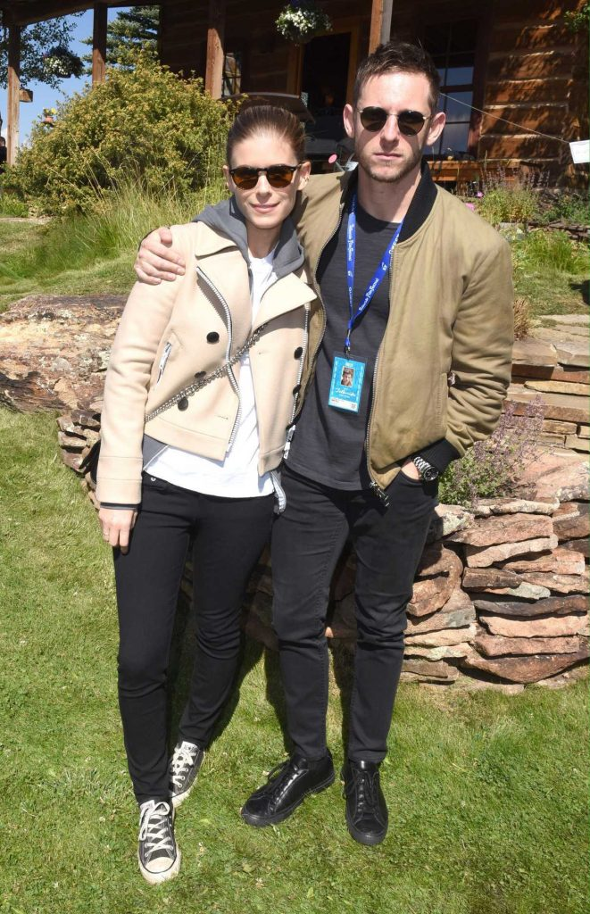 Kate Mara at the 2017 Telluride Film Festival in Colorado With Jamie Bell 09/01/2017-1