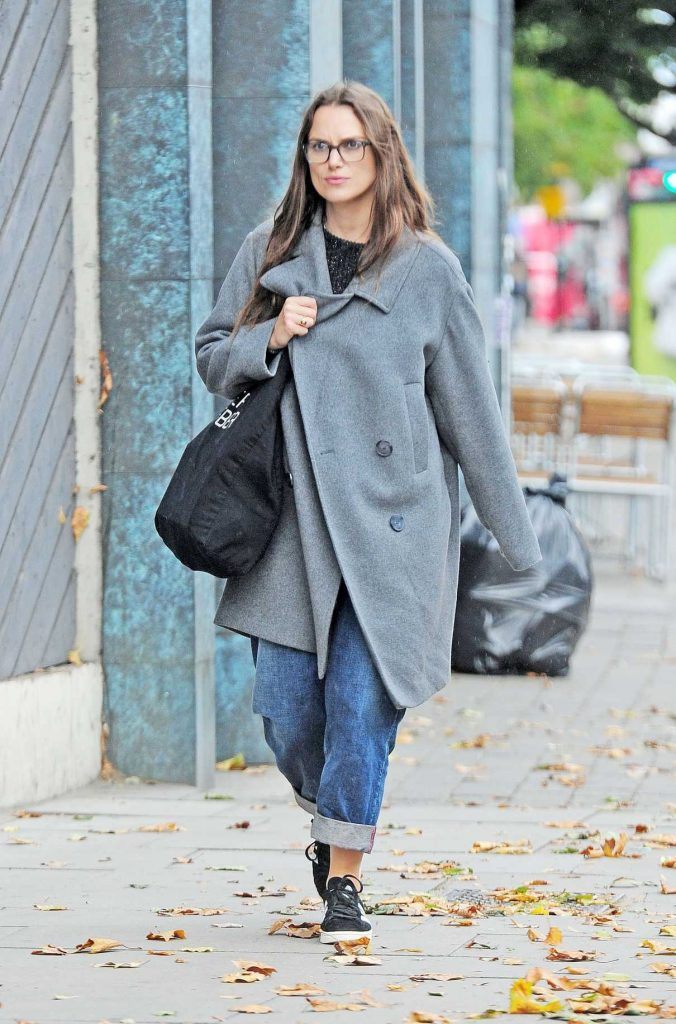 Keira Knightley Was Spotted Out in London 09/12/2017-1