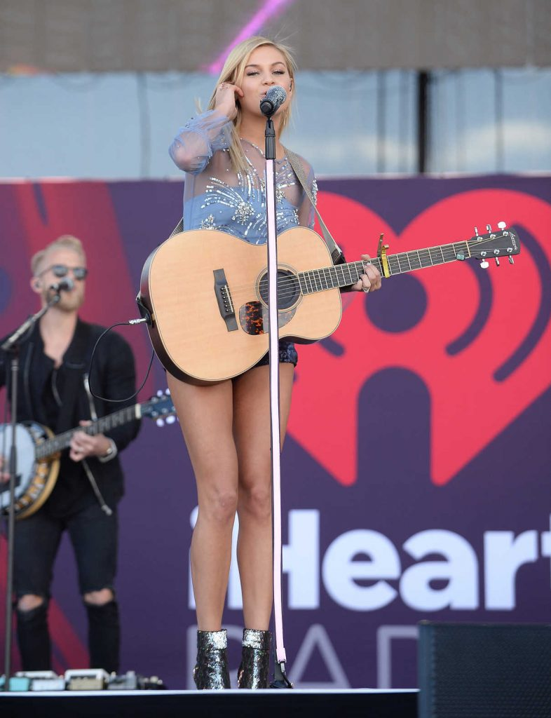 Kelsea Ballerini Performs at iHeart Radio Festival in Las Vegas 09/23/2017-1