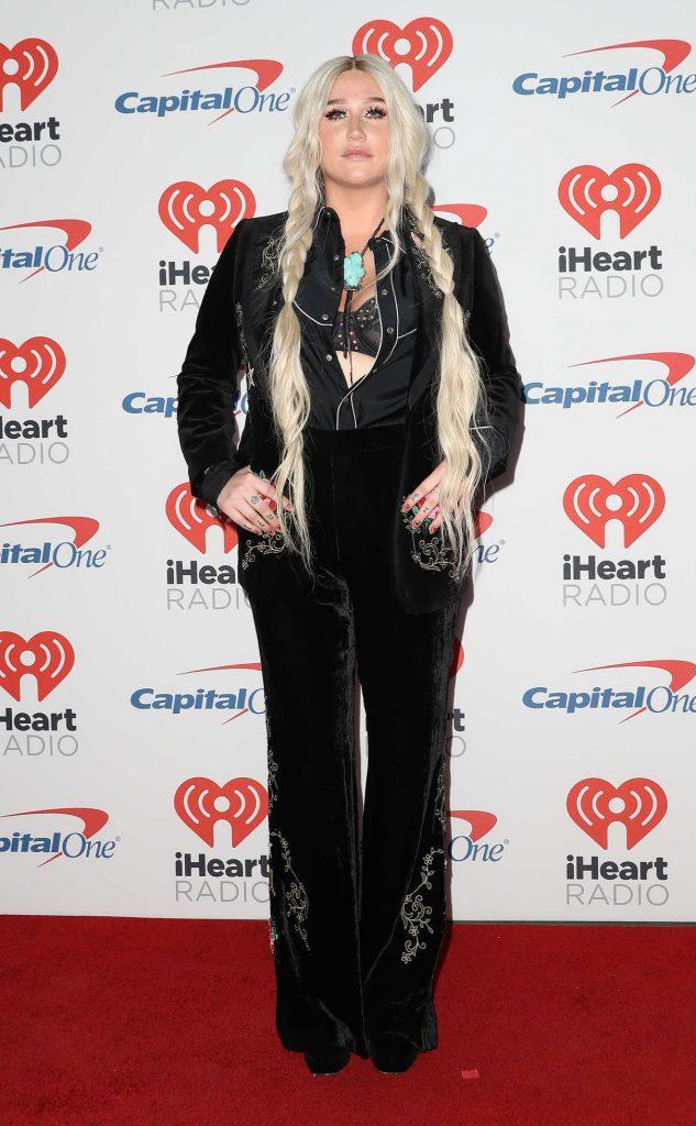 Kesha at iHeart Radio Festival in Las Vegas 09/23/2017-1