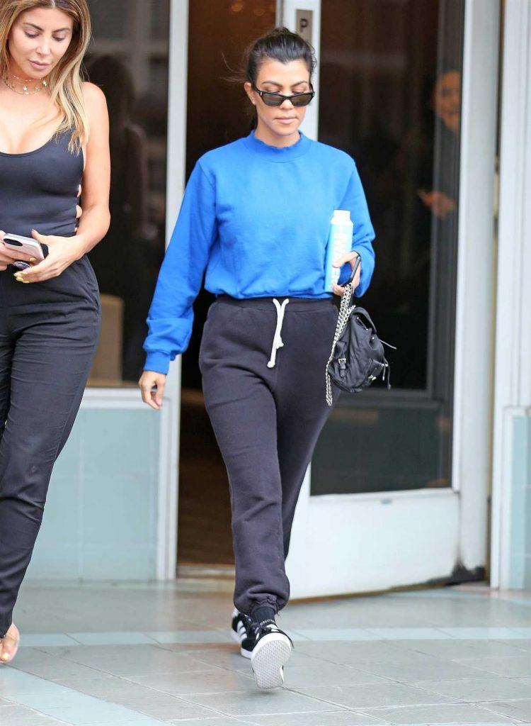 Kourtney Kardashian Was Seen Out in Studio City 09/20/2017-1