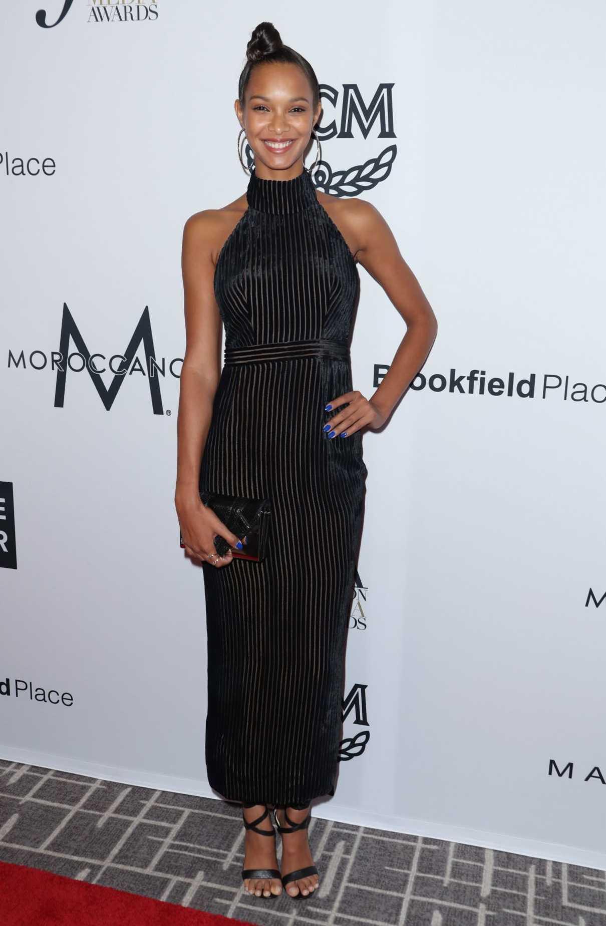 Lais Ribeiro At Daily Front Row Fashion Awards During New York Fashion Week 09 08 2017 Lacelebs Co