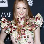 Larsen Thompson at Harper's Bazaar ICONS Party During New York Fashion Week 09/08/2017-4