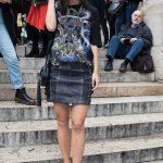 Lena Meyer-Landrut Arrives at the Balmain Show During Paris Fashion Week 09/28/2017-2