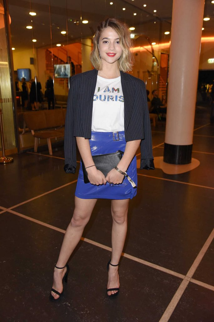Lisa-Marie Koroll at the 2017 Deutscher Schauspielerpreis in Berlin 09/22/2017-1