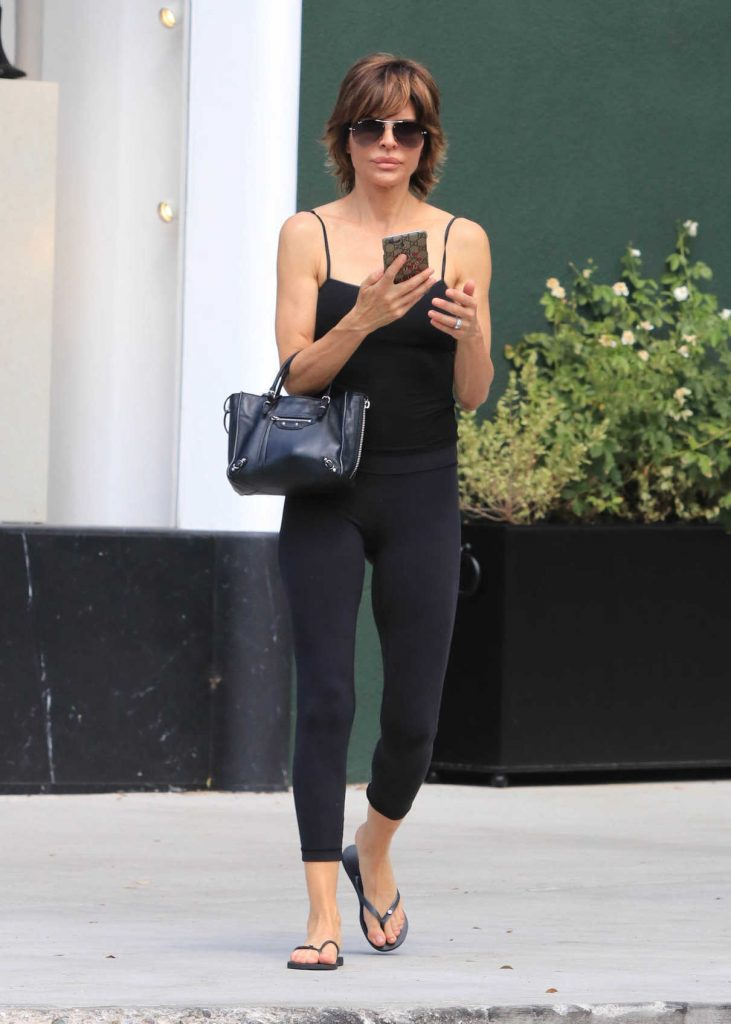 Lisa Rinna Was Seen Out in Hollywood 09/02/2017-1