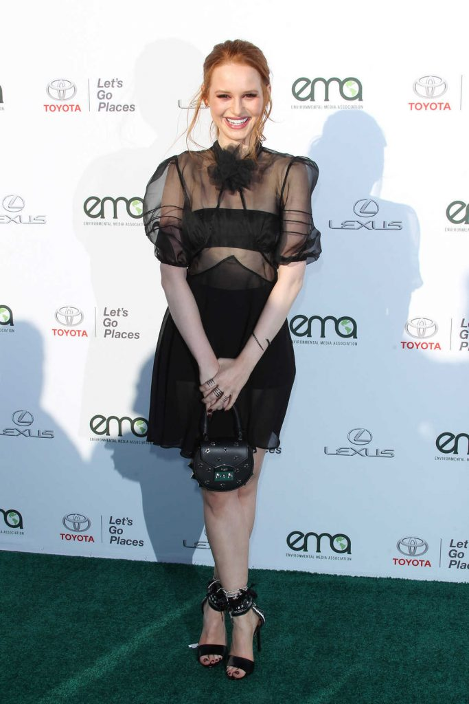 Madelaine Petsch at the Environmental Media Association Awards in Los Angeles 09/23/2017-1