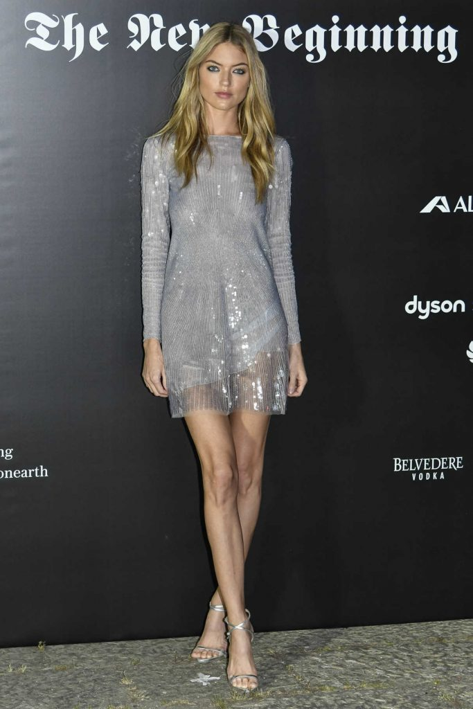 Martha Hunt at Vogue Italia The New Beginning Party During Milan Fashion Week 09/22/2017-1