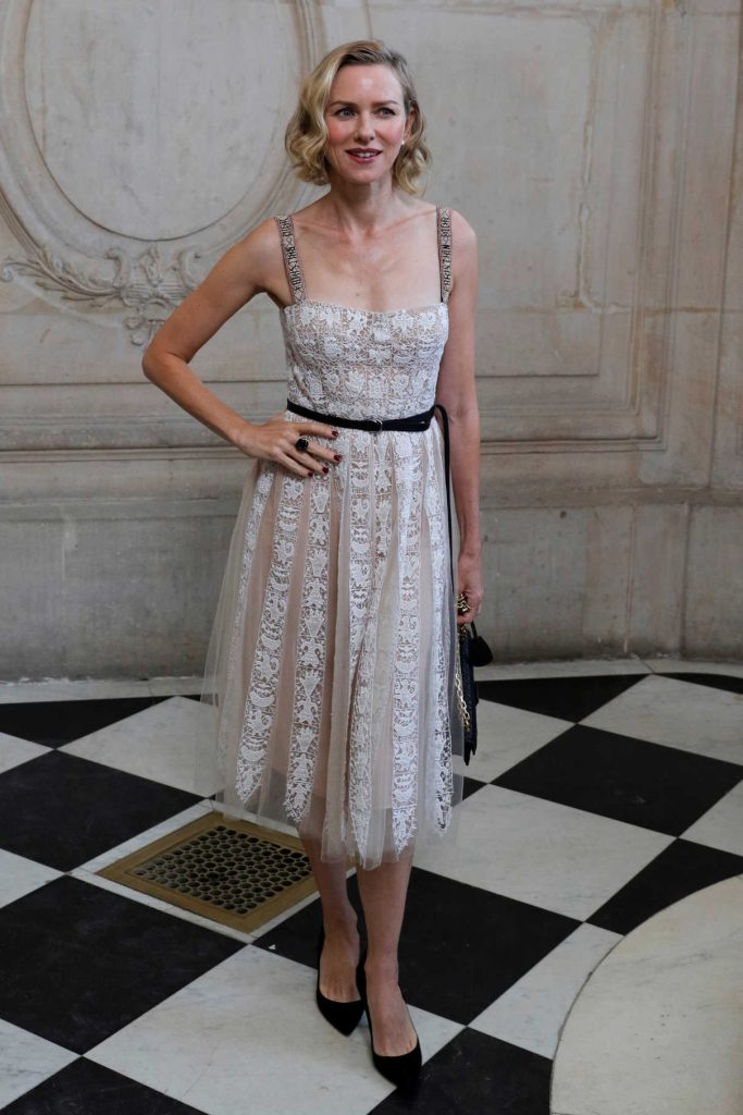 Naomi Watts at the Christian Dior Show in Paris 09/26/2017-1