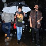Selena Gomez Goes to Dinner Under the Rain With The Weeknd in NYC 09/02/2017-3