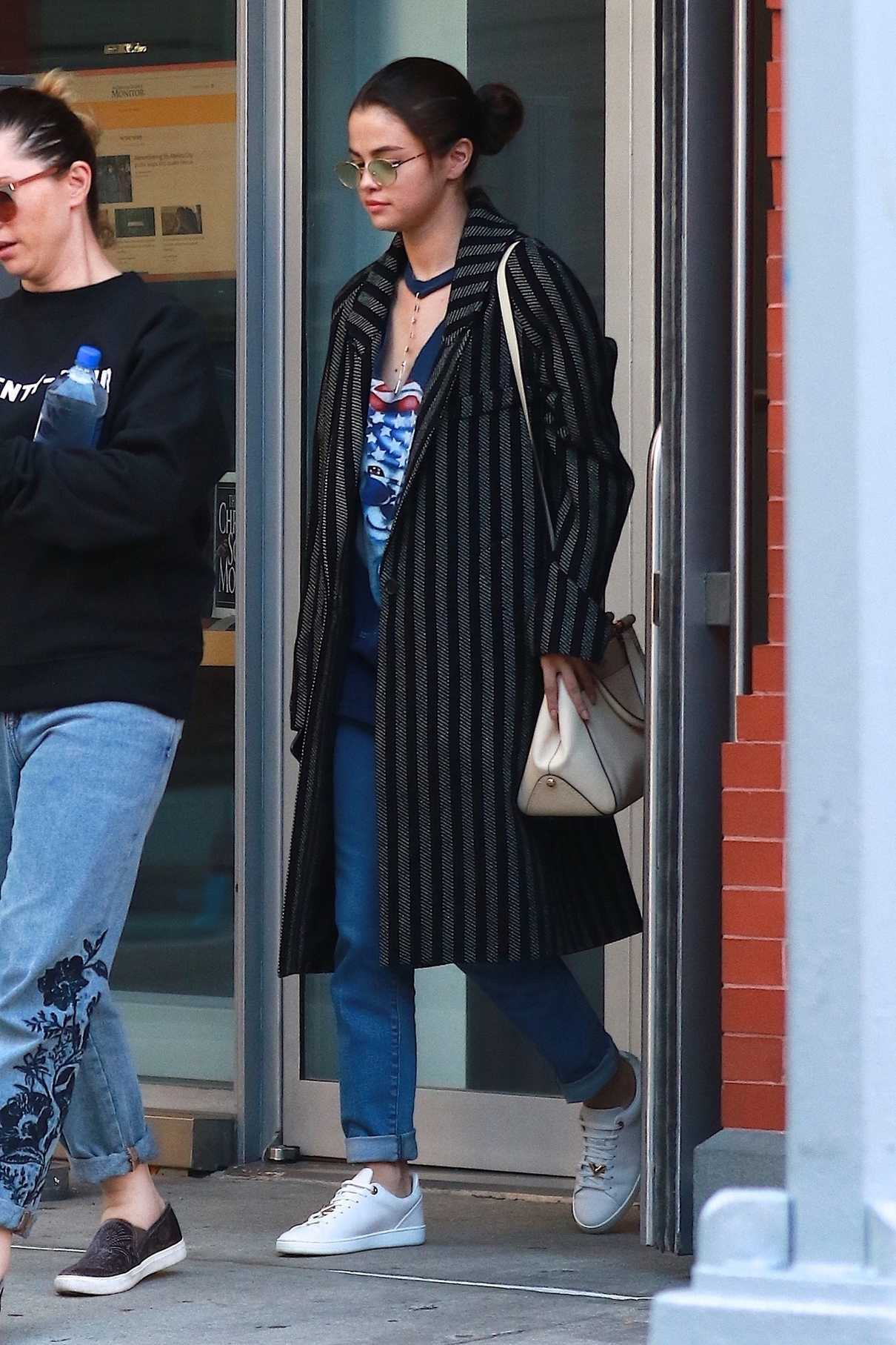 Selena Gomez Was Seen Out in NYC 09/26/2017-3