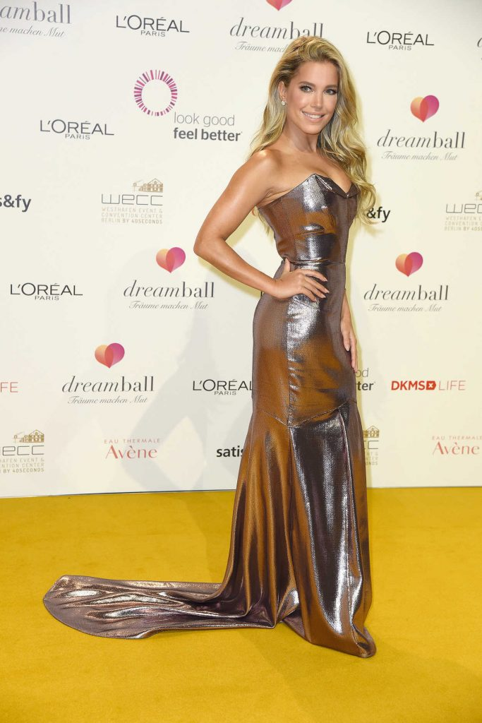 Sylvie Meis at the 2017 Dreamball at Westhafen Event and Convention Center in Berlin 09/20/2017-1