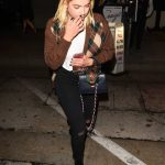 Ashley Benson Leaves Craig's Restaurant in LA 10/04/2017-4