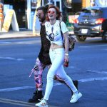 Bella Thorne Leaves Body Electric Tattoo Shop in West Hollywood 10/10/2017-3