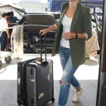 Cobie Smulders Arrives at LAX Airport Los Angeles 10/04/2017-3