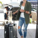 Cobie Smulders Arrives at LAX Airport Los Angeles 10/04/2017-5