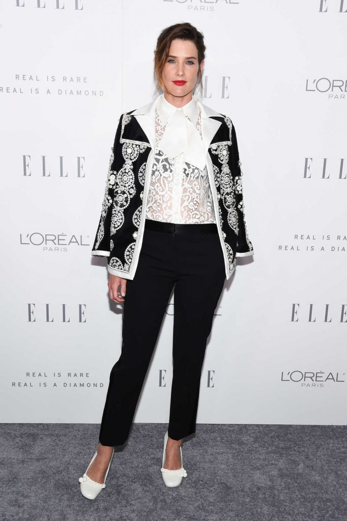 Cobie Smulders at ELLE's 24th Annual Women in Hollywood Celebration in Los Angeles 10/16/2017-1