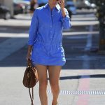 Cobie Smulders Goes Shopping on Rodeo Drive in Beverly Hills 10/16/2017