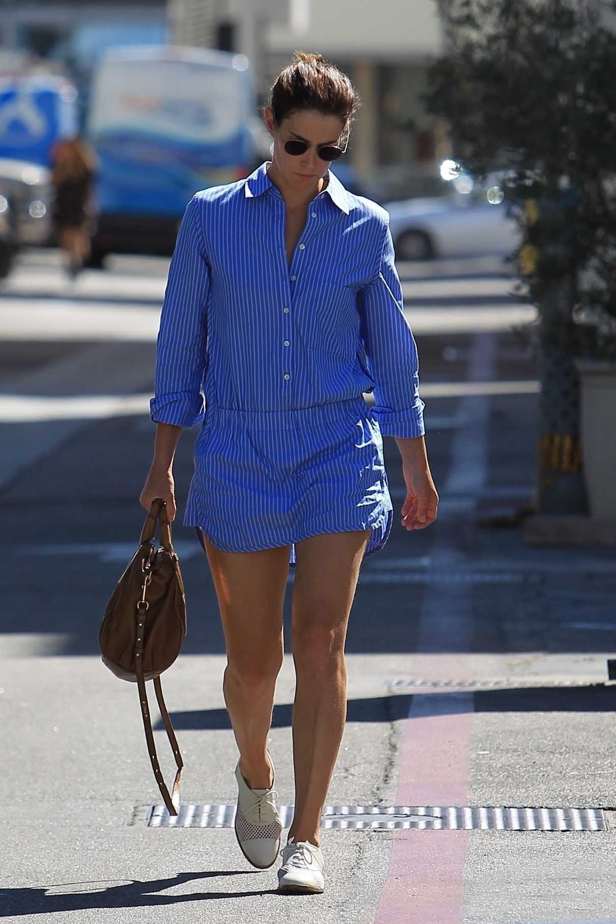 Cobie Smulders Goes Shopping on Rodeo Drive in Beverly Hills 10/16/2017-2