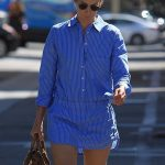 Cobie Smulders Goes Shopping on Rodeo Drive in Beverly Hills 10/16/2017-5