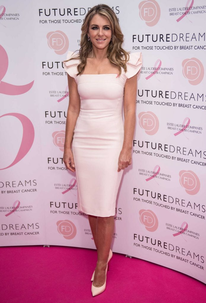 Elizabeth Hurley at the Future Dreams' Fundraising Charity Lunch in London UK 10/09/2017-1