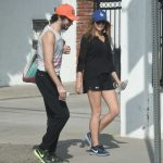 Elizabeth Olsen Walks With Her Boyfriend in Studio City 10/29/2017-2
