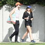 Elizabeth Olsen Walks With Her Boyfriend in Studio City 10/29/2017-4