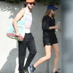 Elizabeth Olsen Walks With Her Boyfriend in Studio City 10/29/2017-5